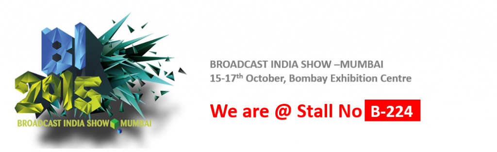 Karthavya@broadcast India Show 2015